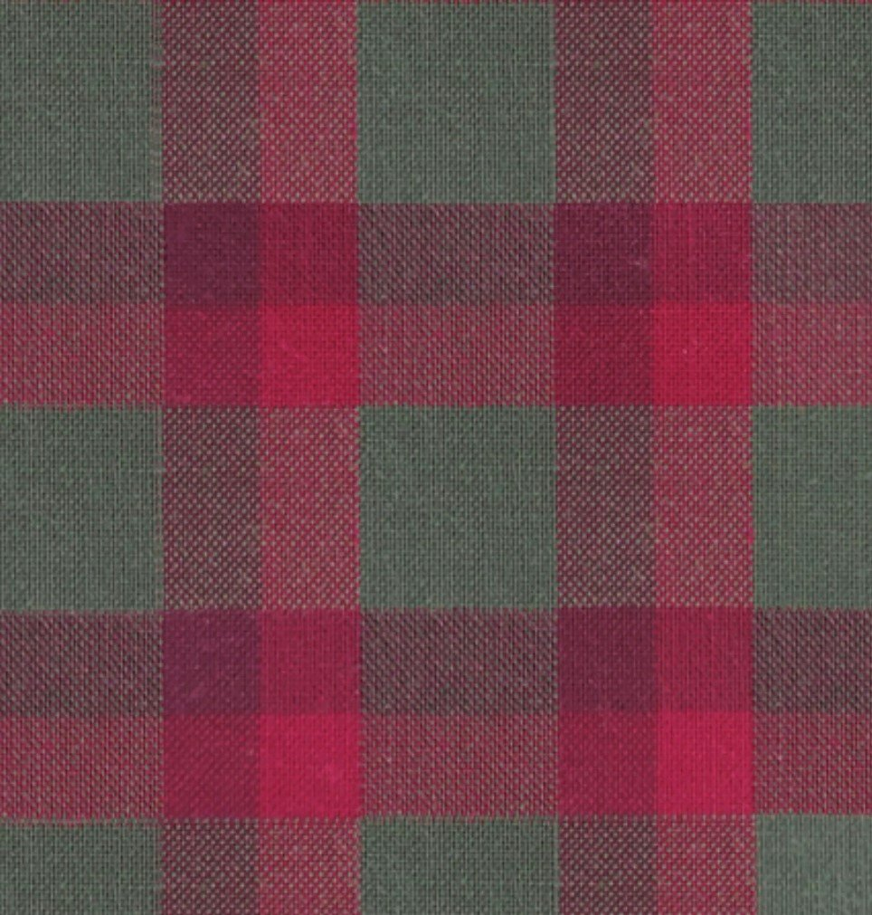 Indie Fabric Studio - Lanna Woven Checks - Mountain Shack