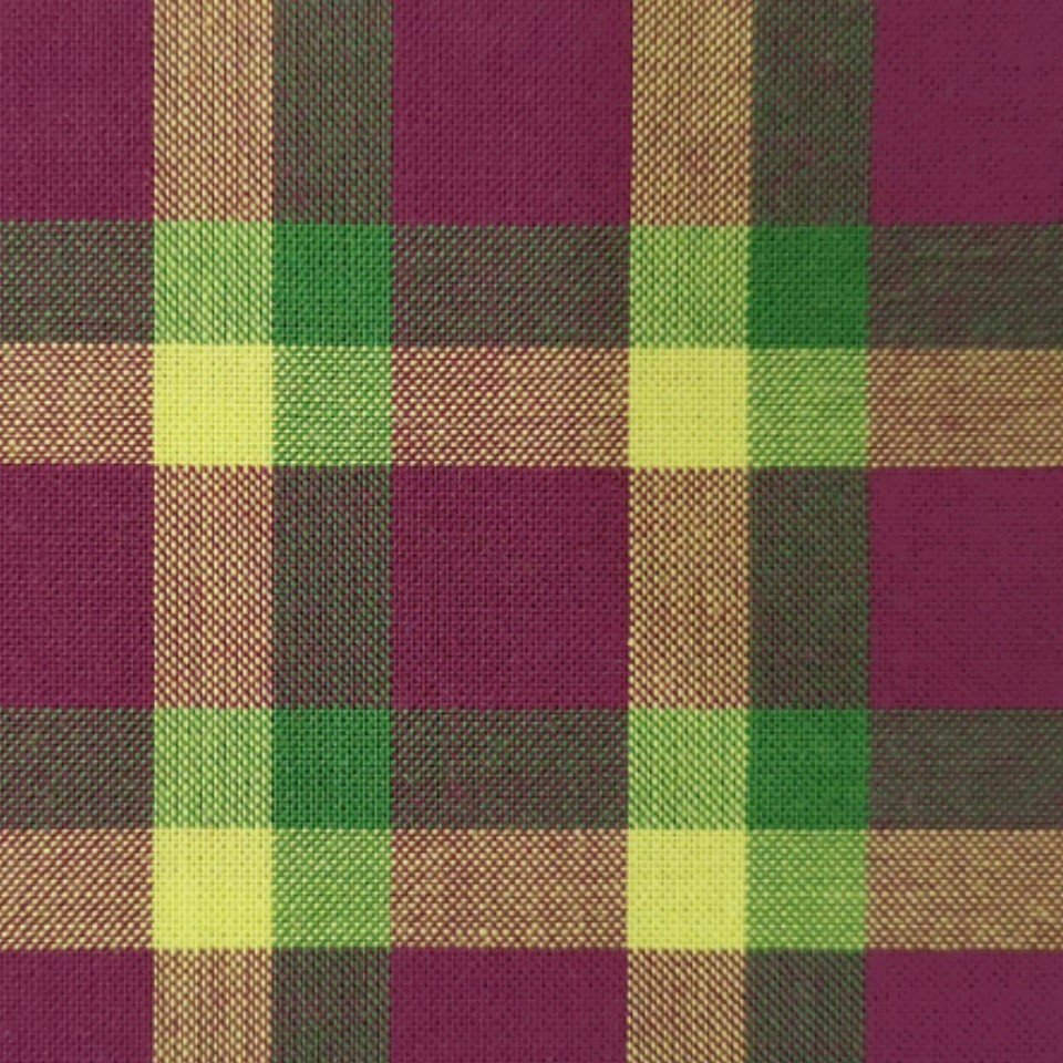 Indie Fabric Studio - Lanna Woven Checks - Song of Nature