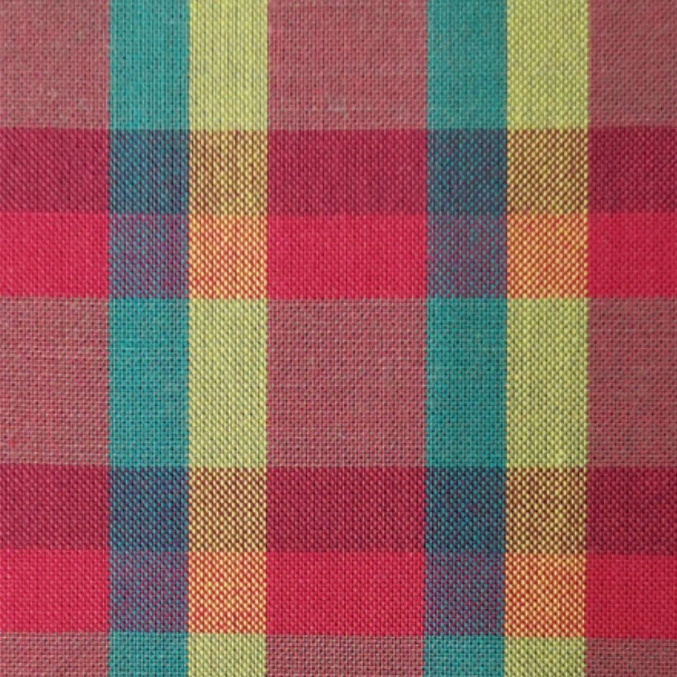 Indie Fabric Studio - Lanna Woven Checks - Hide and Seek