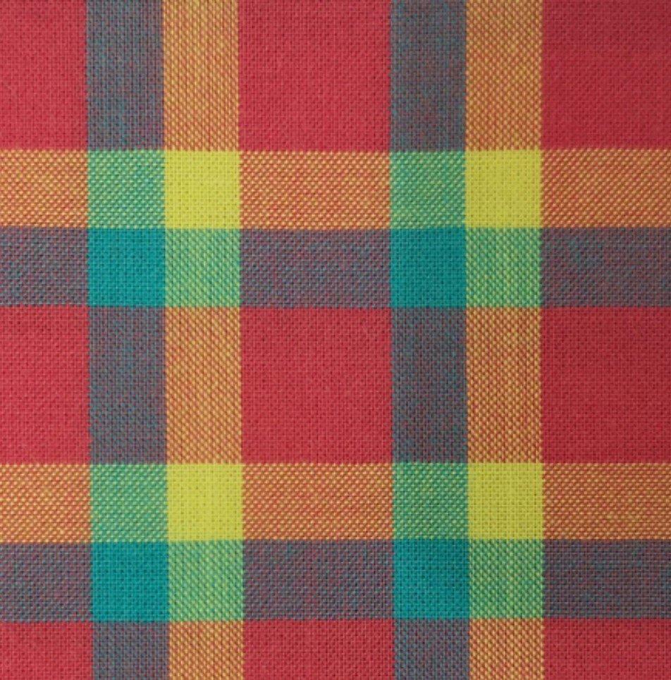 Indie Fabric Studio - Lanna Woven Checks - Daydream