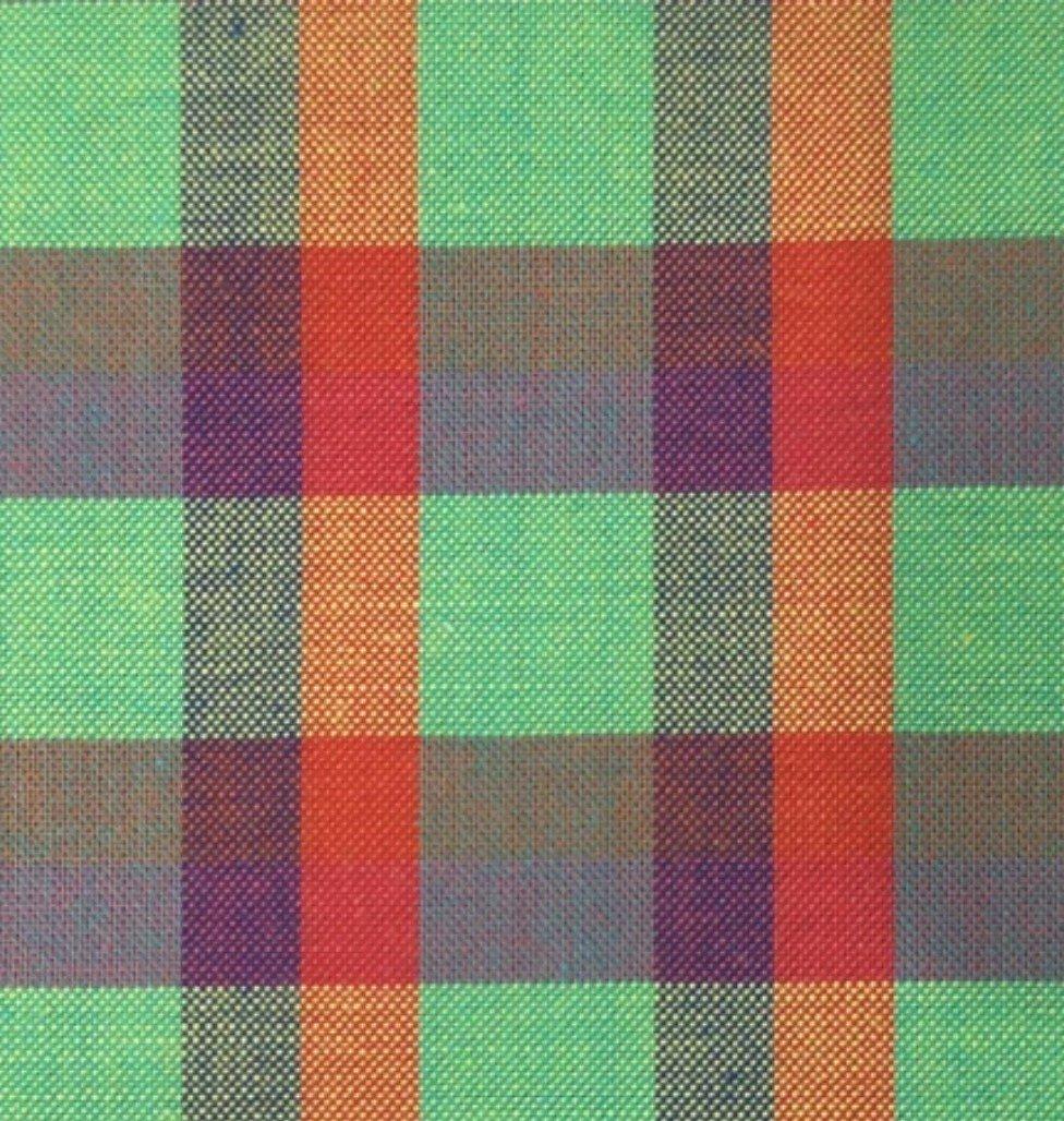 Indie Fabric Studio - Lanna Woven Checks - Garden by the Bay