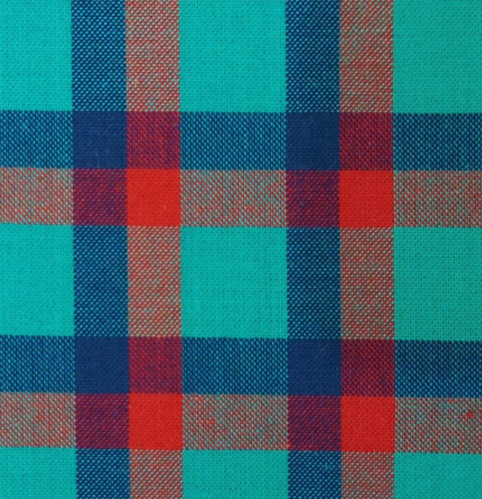 Indie Fabric Studio - Lanna Woven Checks - Picnic Haven