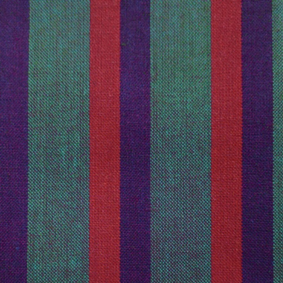 Indie Fabric Studio - Lanna Woven Stripe - Parade