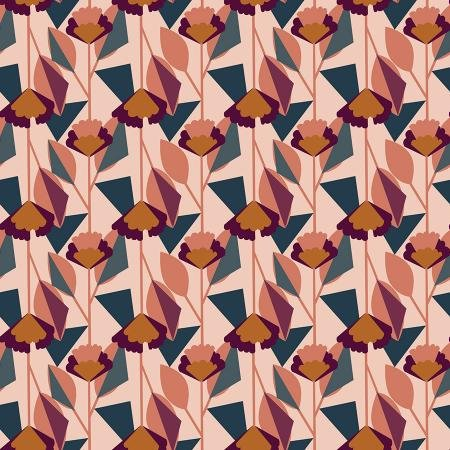 Cotton & Steel - Megan Carter - Emilia - Forence - Light Pink
