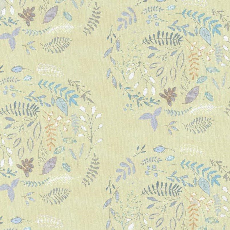 Art Gallery Fabrics - Maureen Cracknell - Serenity Fusion - Wreathed Serenity
