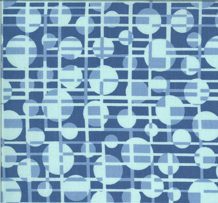 Moda - Jen Kingwell - Winkipop - Deep Water Blue