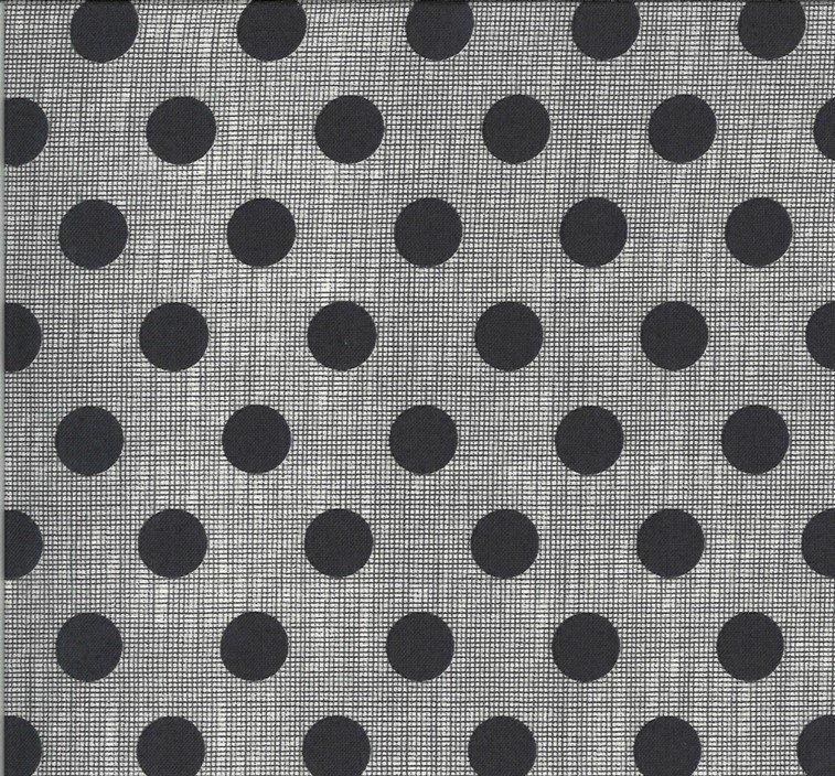 Moda - Jen Kingwell - Winkipop - Charcoal Spots