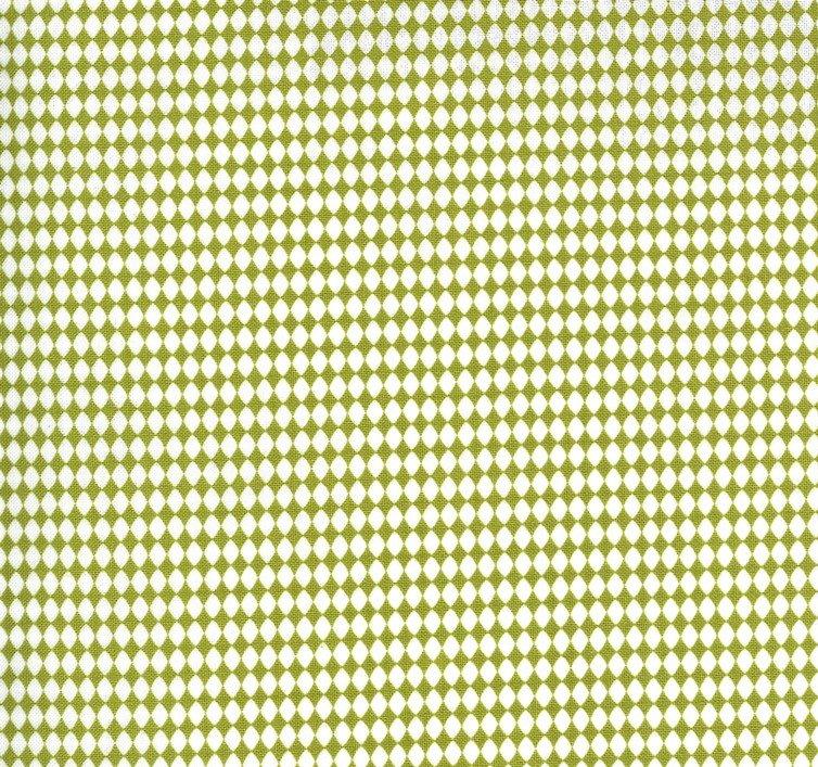 Moda - Sweetwater - Spring Chicken - Green Diamonds