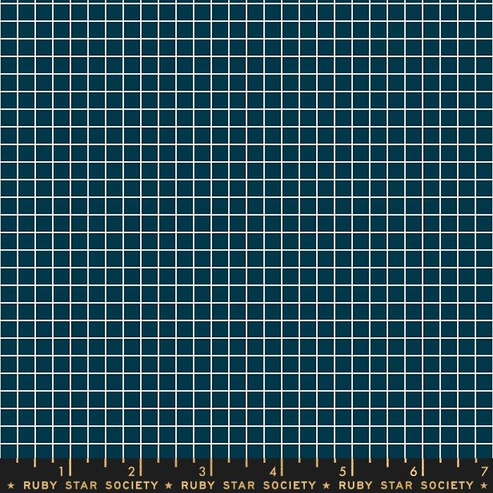 Moda - Ruby Star Society - Grid - Peacock