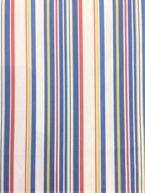 Sevenberry Japan - Coast House Stripe - Faded Primary