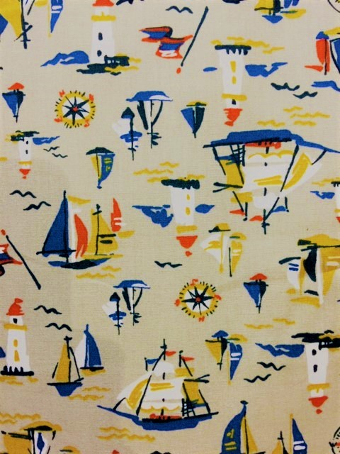Sevenberry Japan - Nautical Sketch - Boats on Grey