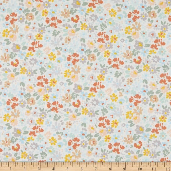 Dear Stella - Forget Me Not - I'm All Ears - Floral - Earth Pastel