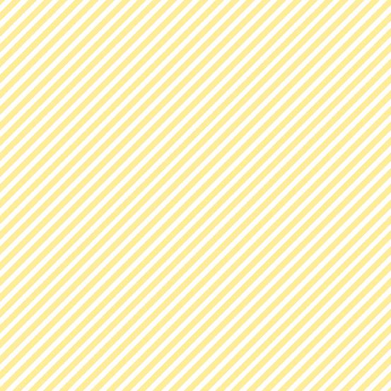 Andover - Sweet Shoppe - Candy Stripe - Banana