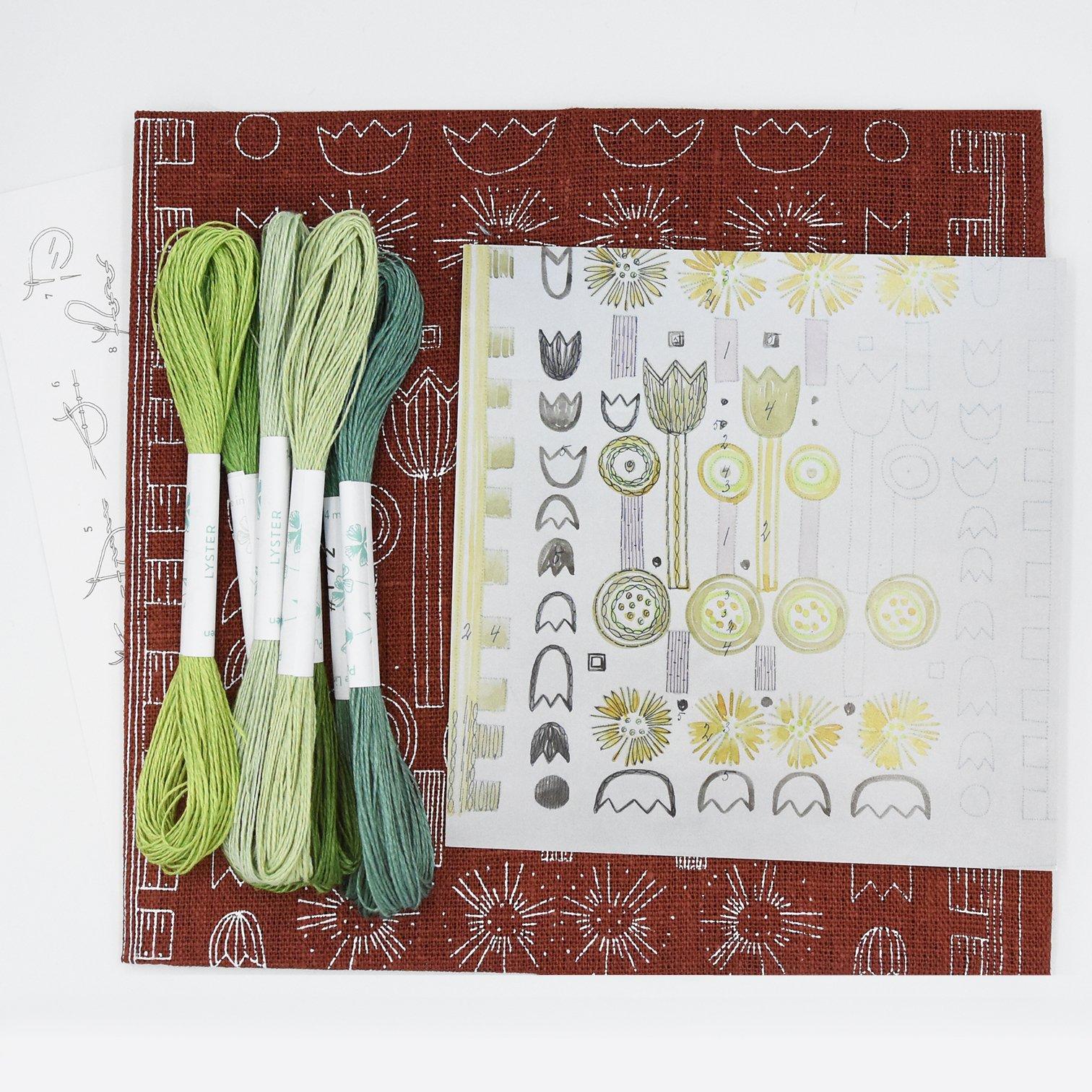 Linladan - Tulip 7409 - Swedish Embroidery Kit 21