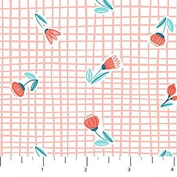 Northcott Studios - Michelle Kilman - Sew Sweet - Tulip - Pink