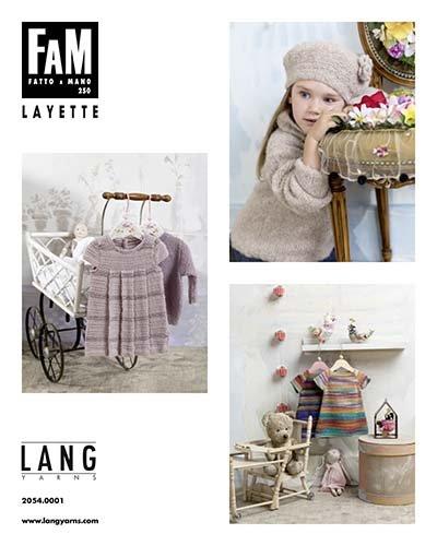 LANG yarns FAM - Fatto a Mano pattern book - 250 layette