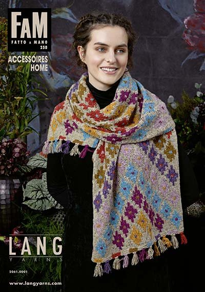 LANG yarns FAM - Fatto a Mano pattern book - 258 accessoires home