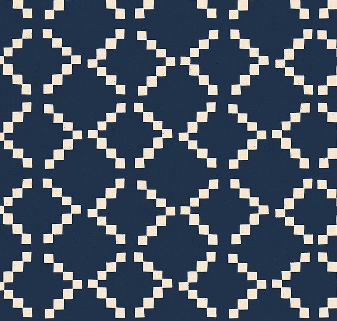 Moda - Ruby Star Society - Alexia Abegg - Golden Hour - Tile - Navy