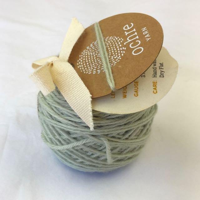 Ochre Yarn - 4ply Merino/Yak/Silk - 20g/80m - #51 Robins Egg