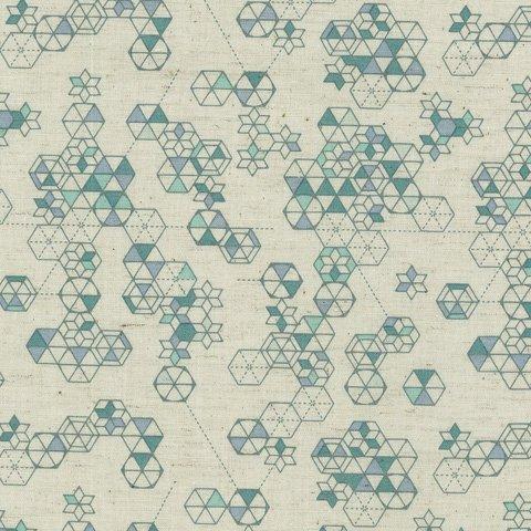 Ella Blue - Rosie Dekker - Paper Garden - Geometric - Green
