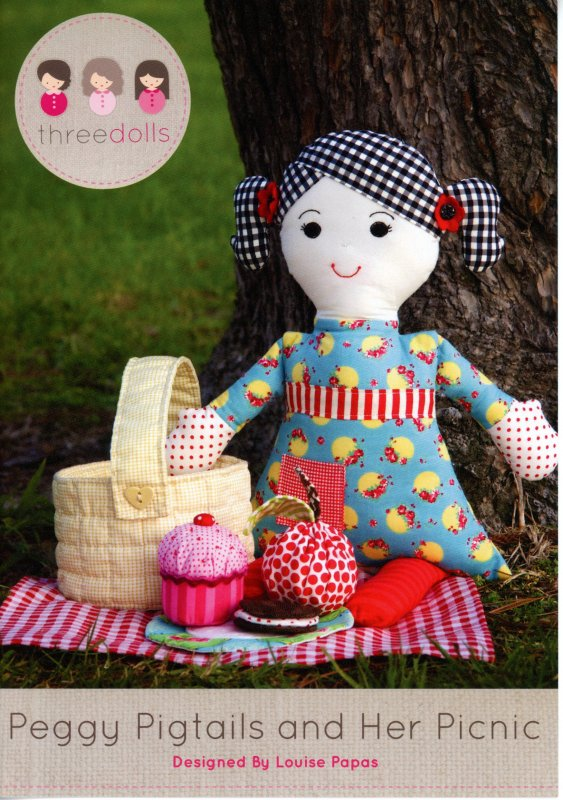 Peggy Pigtails and Her Picnic by Louise Papas