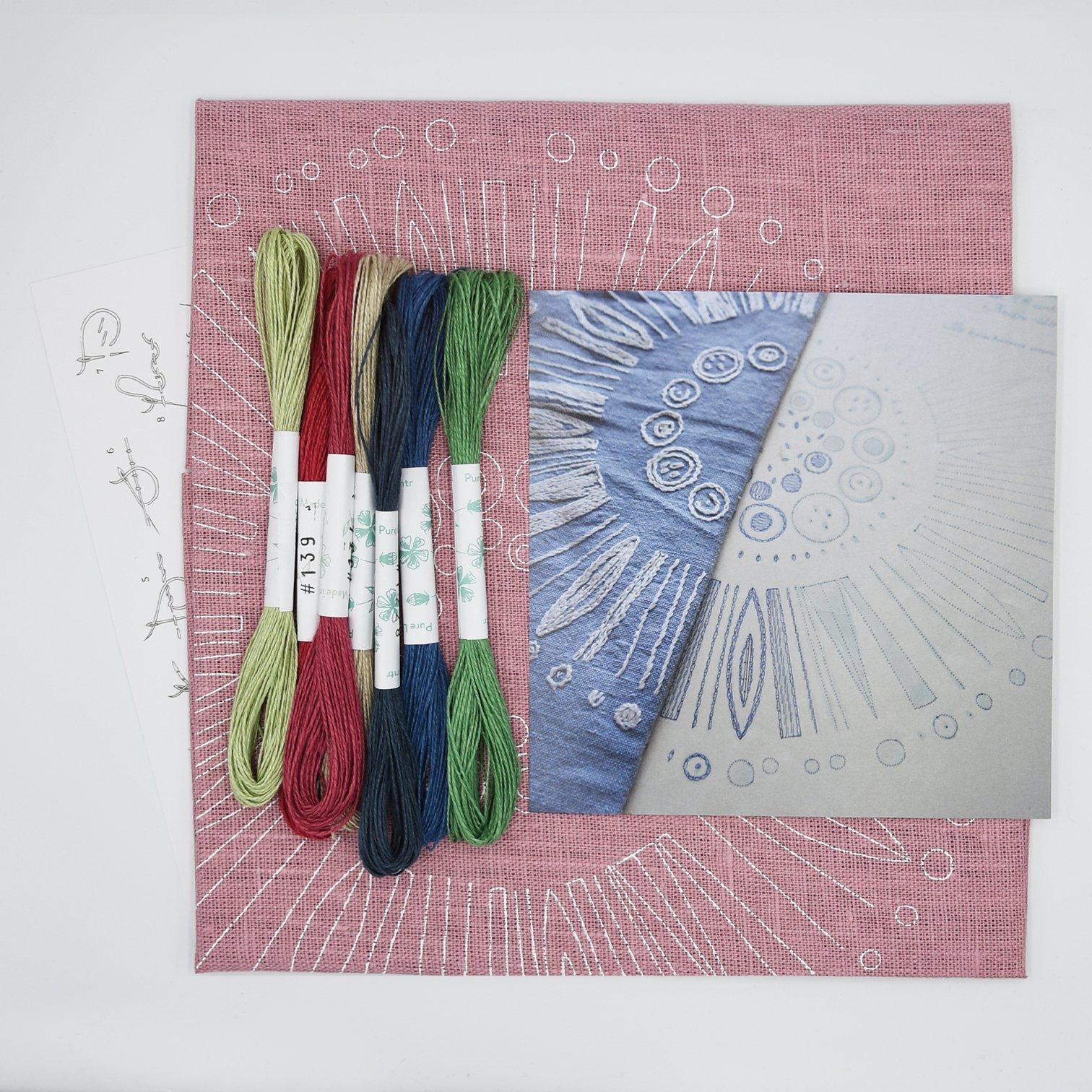 Linladan - Circle 6503 - Swedish Embroidery Kit 44