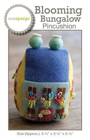 Sue Spargo - Blooming Bungalow Pincushion Pattern