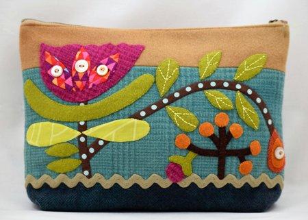 Sue Spargo - Blooming Bungalow Pincushion Pattern
