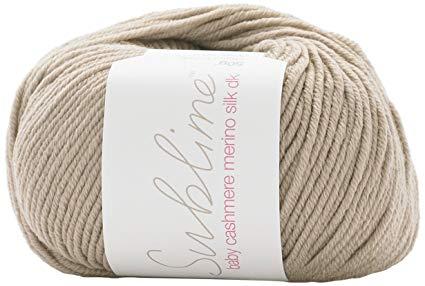 Sublime yarn - baby cashmere merino silk dk - 50g/116m - Pebble