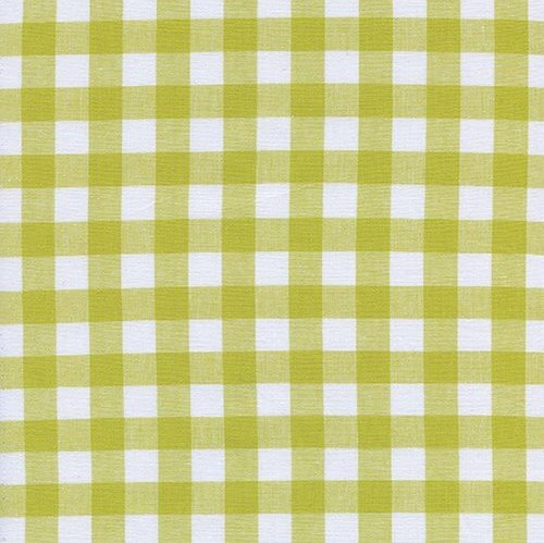 Cotton & Steel - Checkers - Gingham - Green