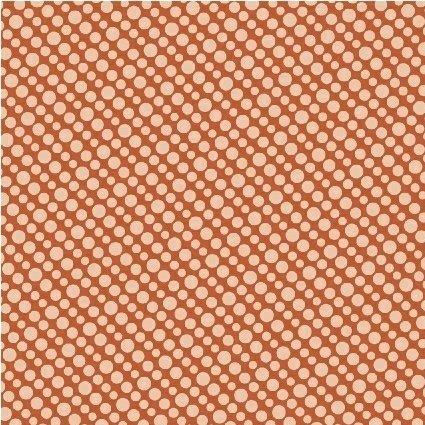 Windham Fabrics - Janine Vangool - Uppercase Vol 3 - Circular Logic - Diagonal Spot - Ginger