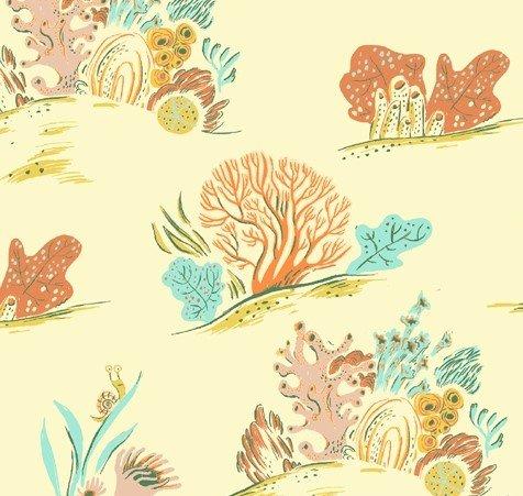 Windham Fabrics - Heather Ross - Malibu - Coral #1