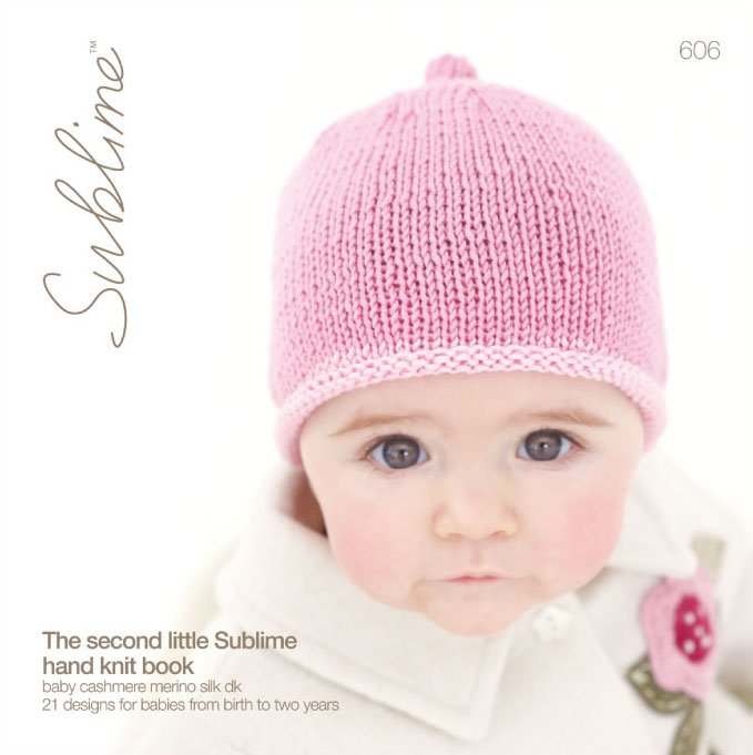 Sublime yarn - The second little Sublime hand knit book