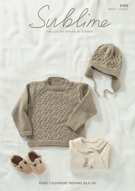 Sublime Yarn - Pattern Leaflet #6166 - Birth to 2 years
