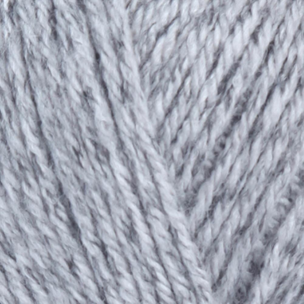 Fiddlesticks yarn - Superb Tweed - 100g/200m - Grey