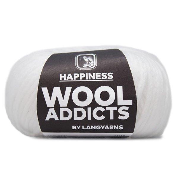 Lang Yarn - Wool Addicts - Happiness - White