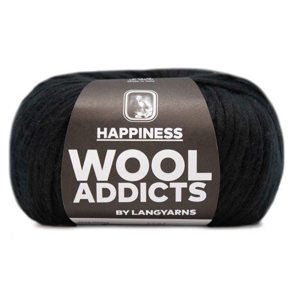 Lang Yarn - Wool Addicts - Happiness - Black