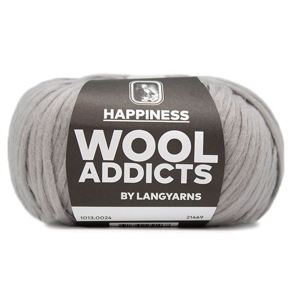 Lang Yarn - Wool Addicts - Happiness - Grey