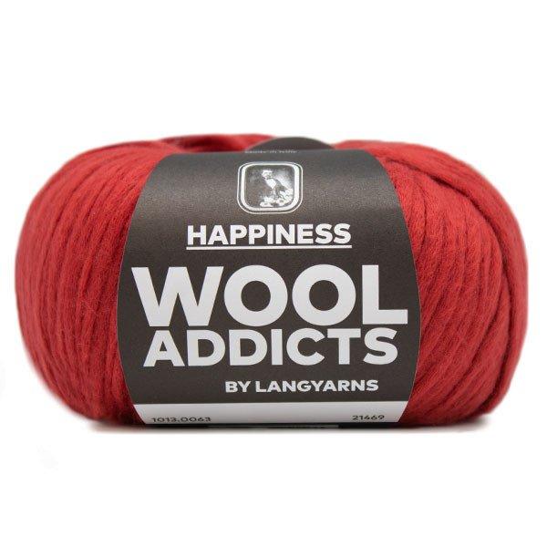 Lang Yarn - Wool Addicts - Happiness - Dark Red