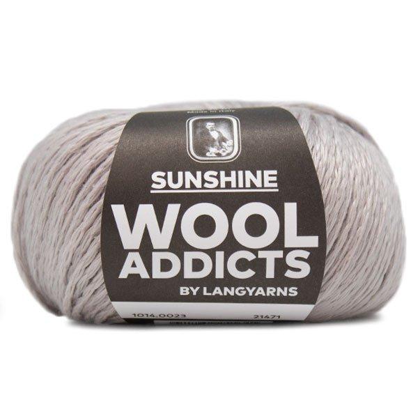 Lang Yarn - Wool Addicts - Sunshine - Silver