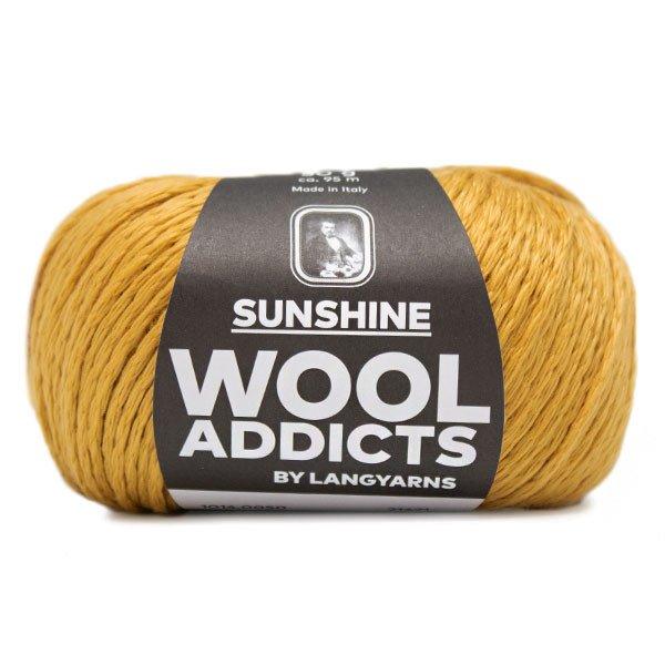 Lang Yarn - Wool Addicts - Sunshine - Gold