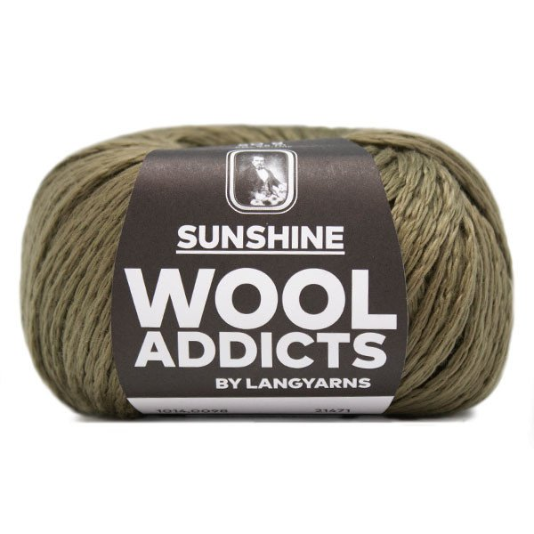 Lang Yarn - Wool Addicts - Sunshine - Olive