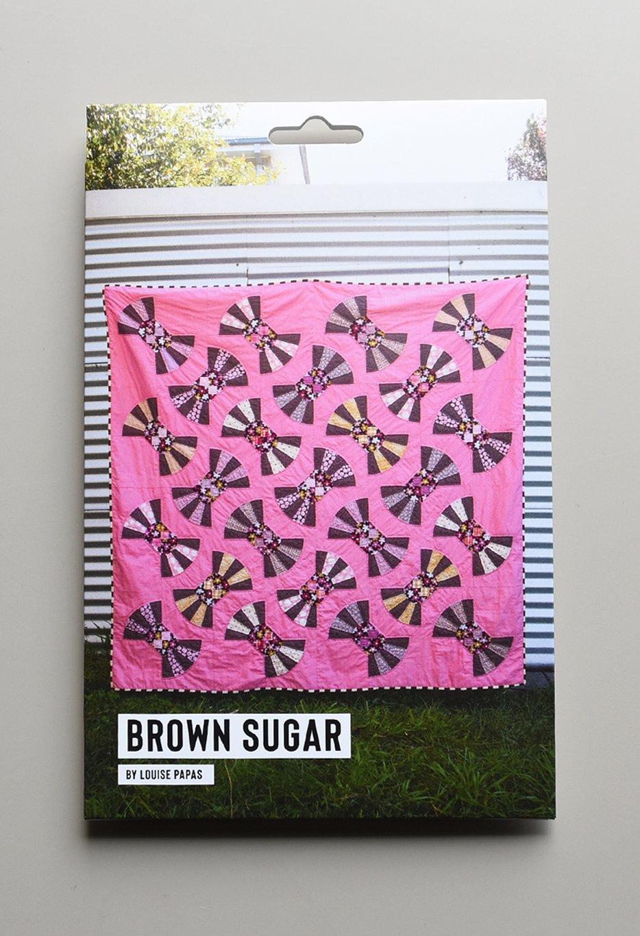 Brown Sugar Pattern by Louise Papas