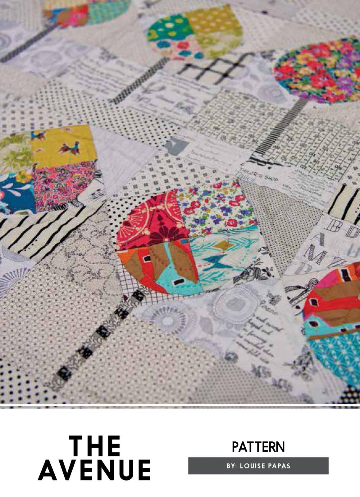 The Avenue Pattern by Louise Papas for Jen Kingwell Designs