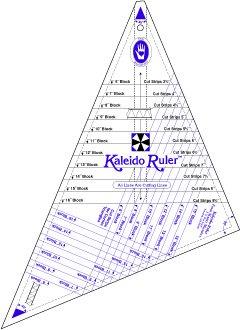 Marti Michell -  Kaleido Ruler  / Small