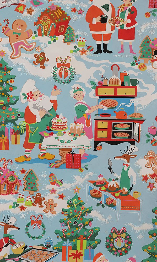 Alexander Henry - Christmas Time - Sugar Plum Santa