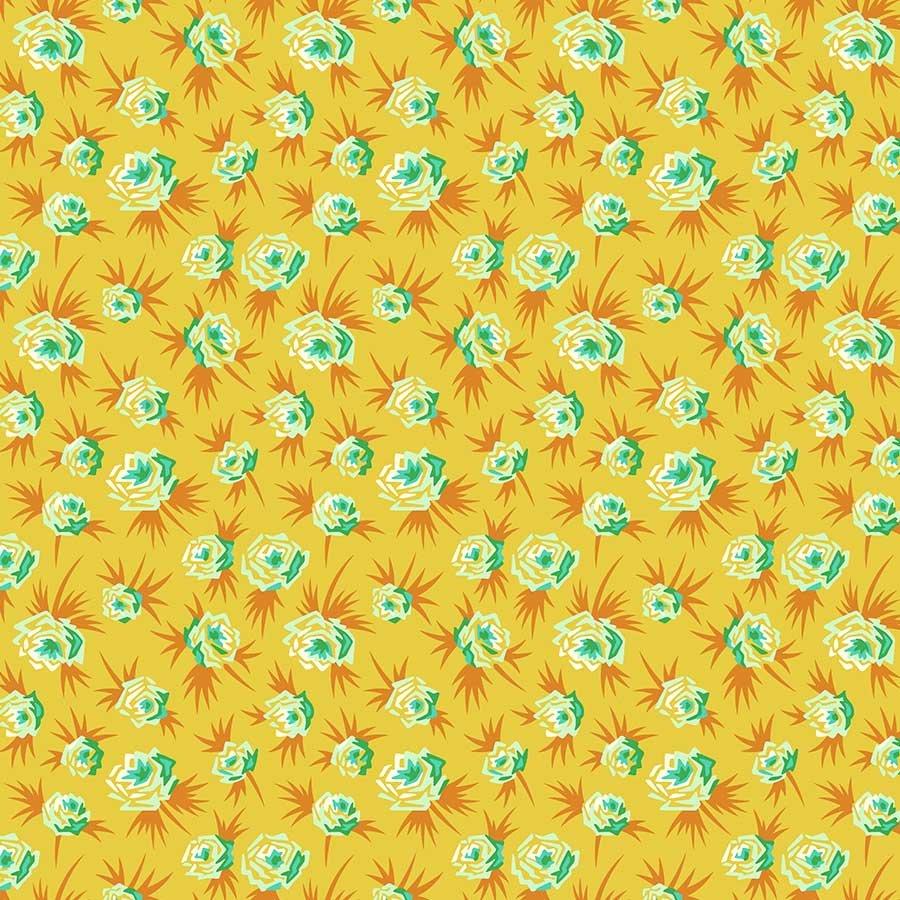 Figo Fabrics - Heather Bailey - True Kisses - Spark Gold