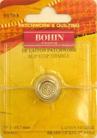 Bohin - De Laiton Patchwork Slip Stop Thimble