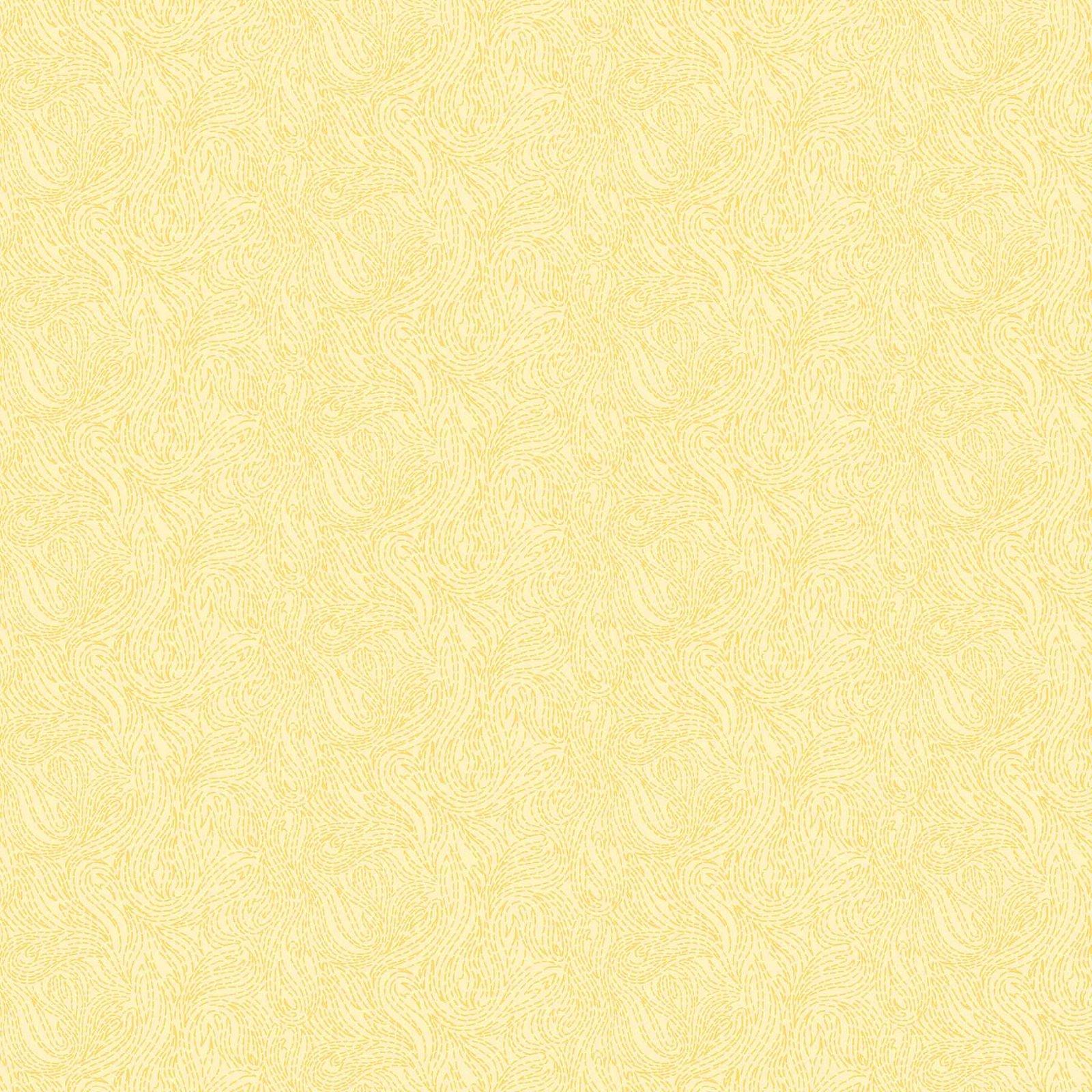 Figo Fabrics - Ghazal Razari - Elements Fire - Butter