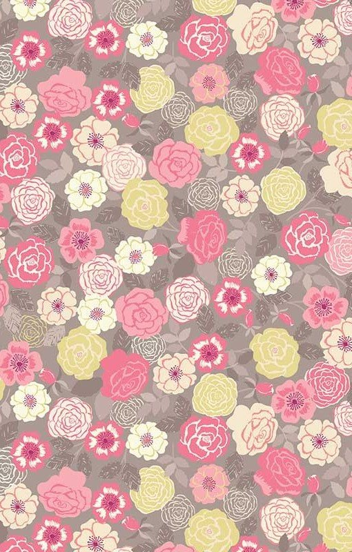 Lewis and Irene - Flo's Wild Flowers - Pink & Yellow
